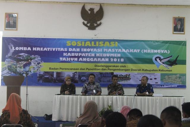 Lomba Krenova Kabupaten Kebumen Tahun 2018